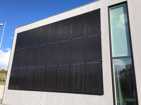 Referencer Sunfactor Køge facadesystem